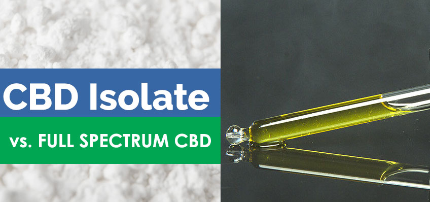 full-spectrum CBD oil vs. Isolate