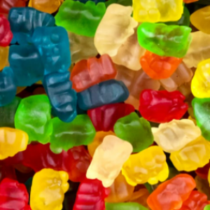 Gummies come in all shapes and flavors